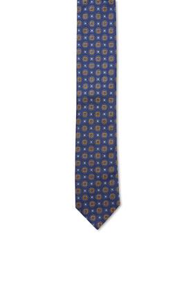 Abstract Pattern Silk Tie
