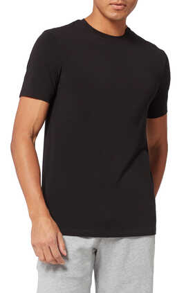 Circle Logo Stretch Cotton T-Shirt