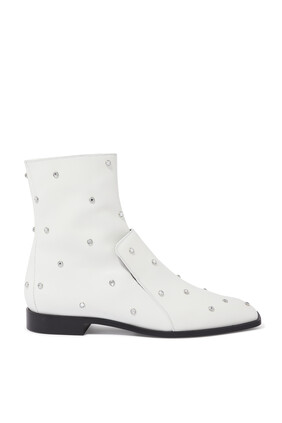 Narsico Studded Ankle Boots