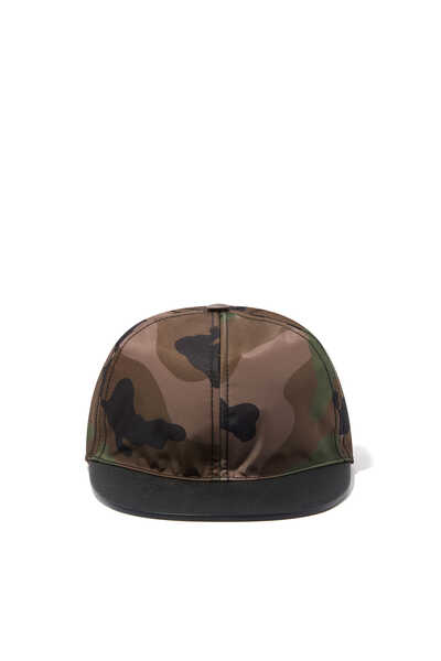 Valentino Garavani Camouflage-Print Baseball Cap