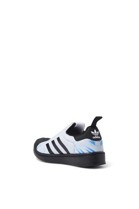 Kids Black Panther Superstar Sneakers