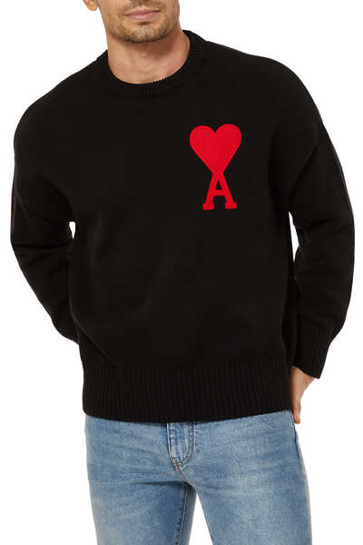 Logo Cotton-Wool Sweater