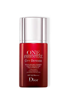 One Essential City Defense Toxin Shield Pollution and UV Advanced Protection SPF 50 PA++++