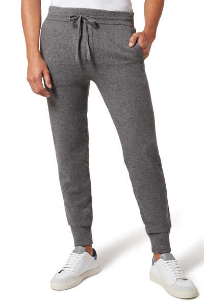 Wool And Cashmere Track Pants