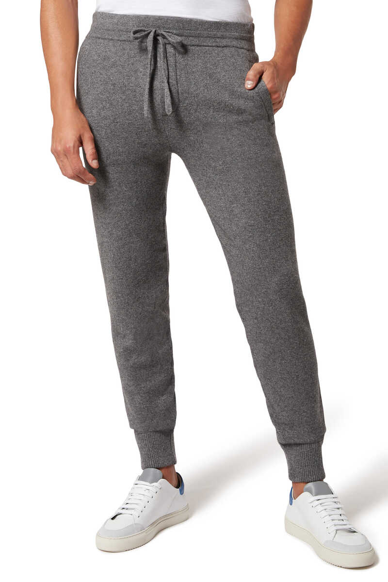 Wool And Cashmere Track Pants image number 1