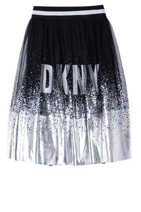Logo Shimmer Skirt