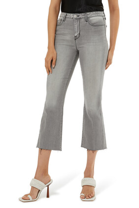 Kendra Crop Flare Jeans
