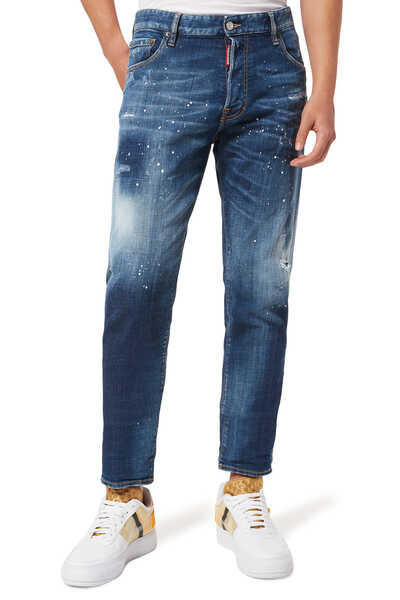 Sexy Mercury Under Patch Denim Jeans