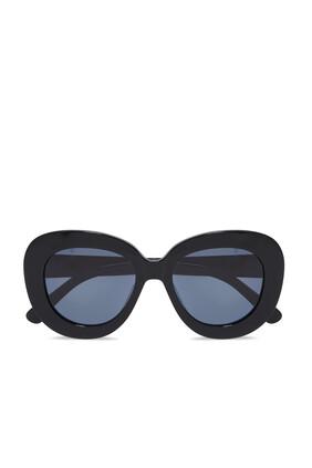 Astrid Black Sunglasses