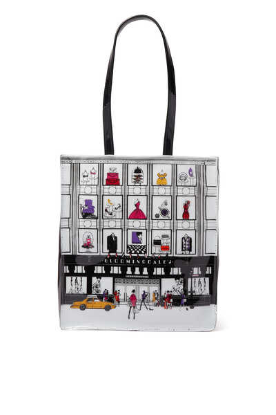 NYC Storefront Medium Tote