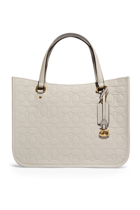 Tyler 28 Signature Leather Carryall