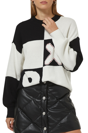 Tic Tac Toe Sweater