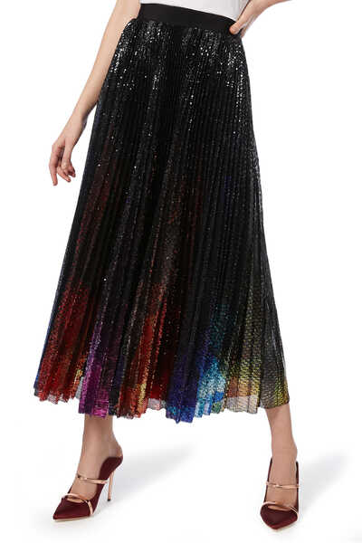 Gona Sequin Embellished Skirt