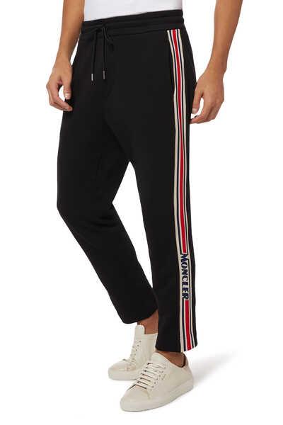 Solid Open Jogging Pants