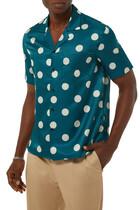 Polka Dots Silk Shirt