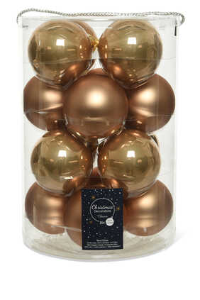 Holiday Baubles, Set of 16