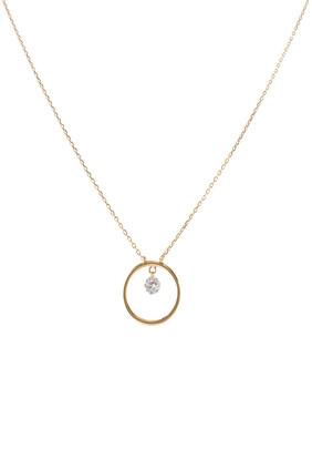 Comic Strip Diamond Necklace