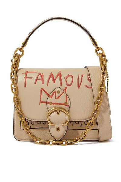 Basquiat Beat Shoulder Bag