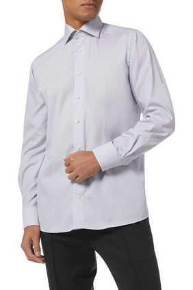 Art Deco Poplin Slim Fit Shirt