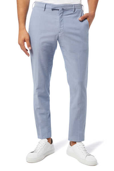 Ice Cotton Crepe Pants