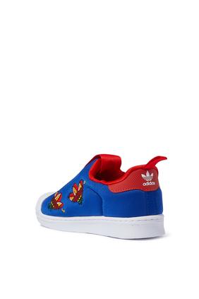 Kids Trefoil Superstar Sneakers