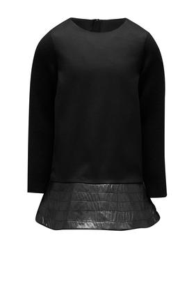 Leather Skirt Dress