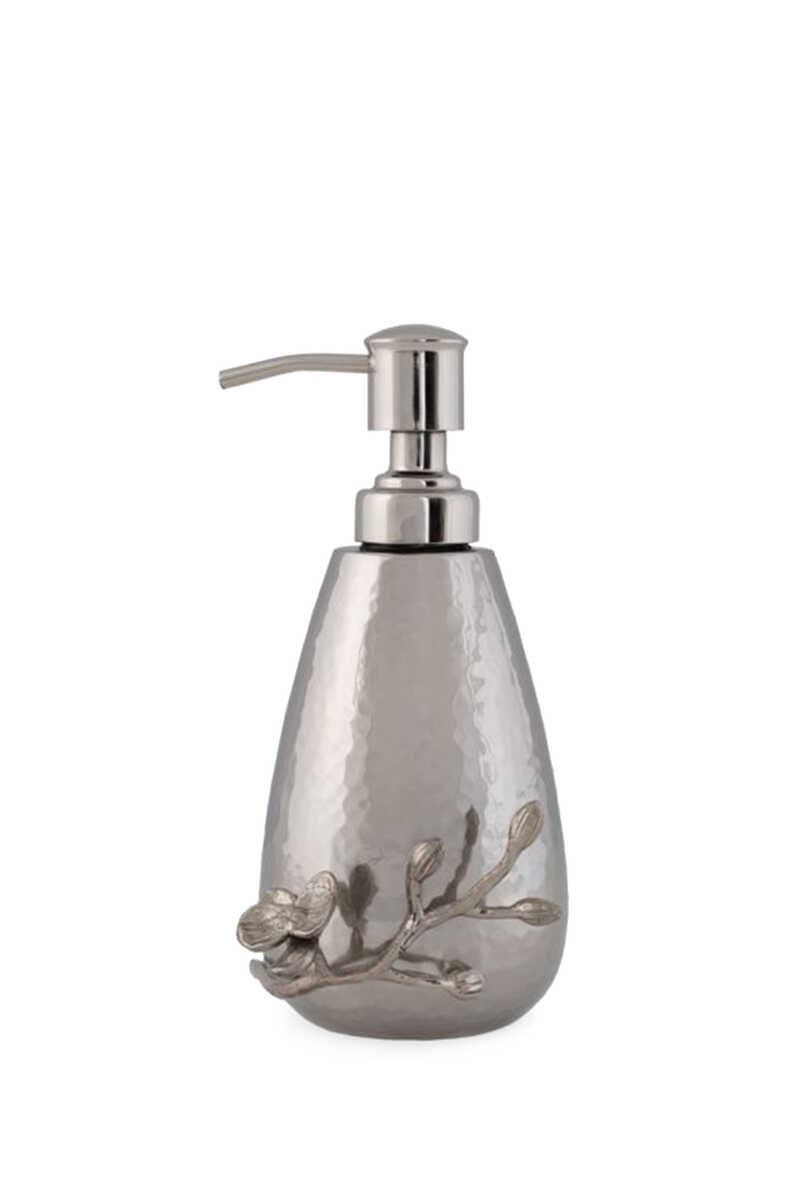 White Orchid Soap Dispenser image number 1
