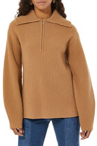 Moving Rib Sweater