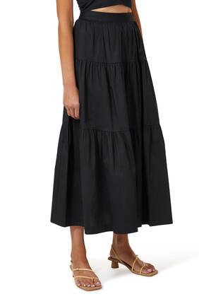 Sea Tiered Skirt