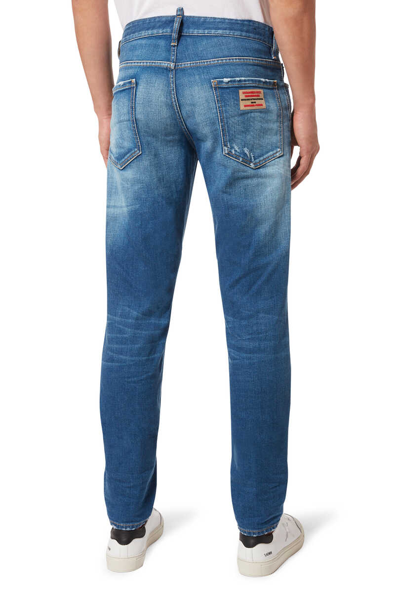Slim Rammendo Denim Jeans image number 3