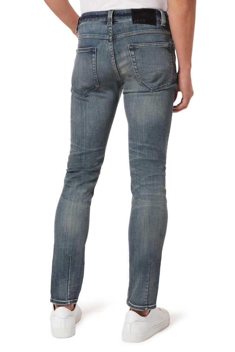 Jean Lou Slim Biker Jeans image number 3