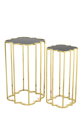 Concentric Side Tables, Set of Two