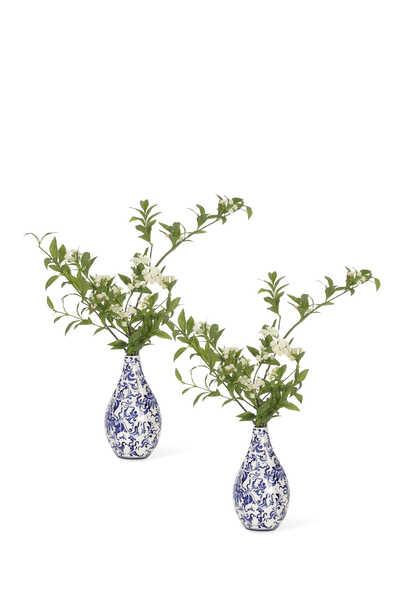 Spiraea Vases, Set of 2