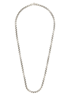 Large Box Chain Necklace