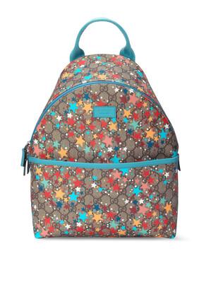 GG Star Print Backpack