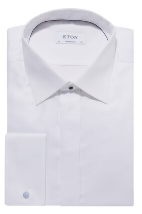 Contemporary Fit Dobby Evening Shirt