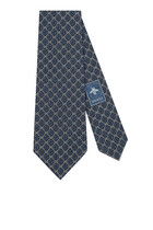 GG Pattern Silk Tie