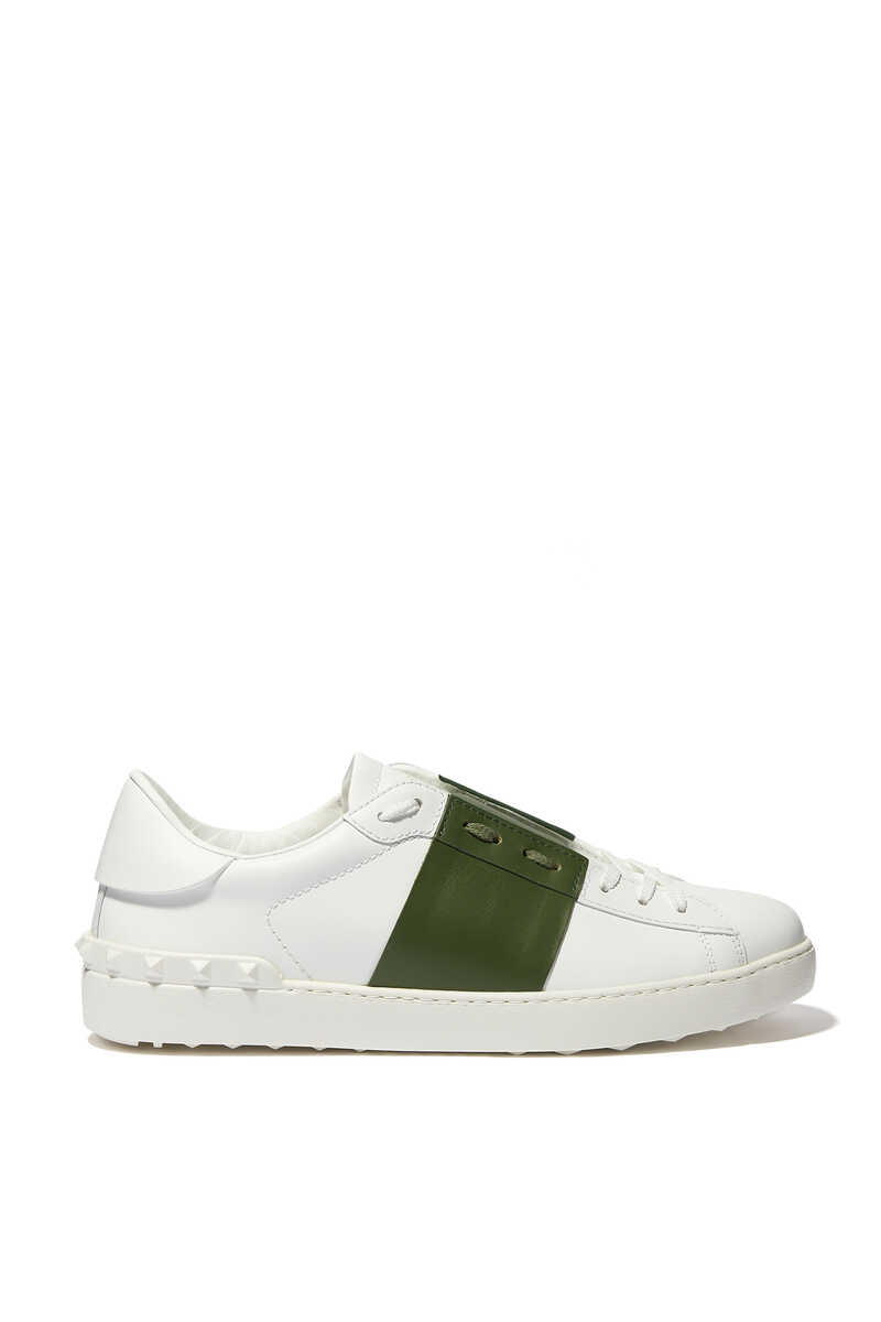Valentino Garavani Open Leather Sneakers image number 1
