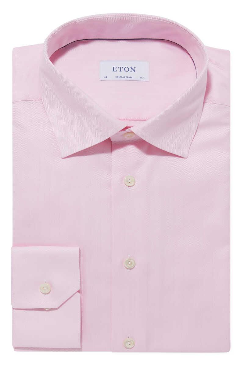 Herringbone Print Shirt image number 1