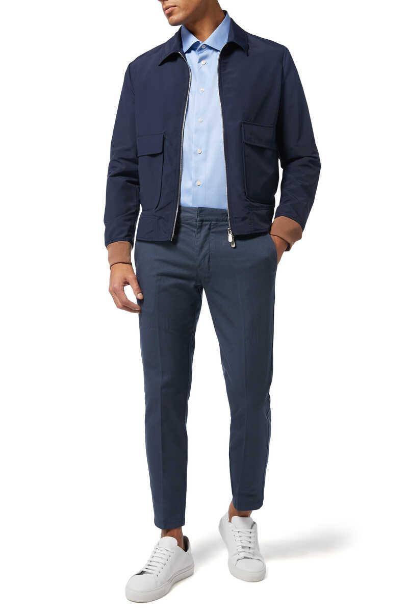 Slim Fit Cotton Shirt image number 2