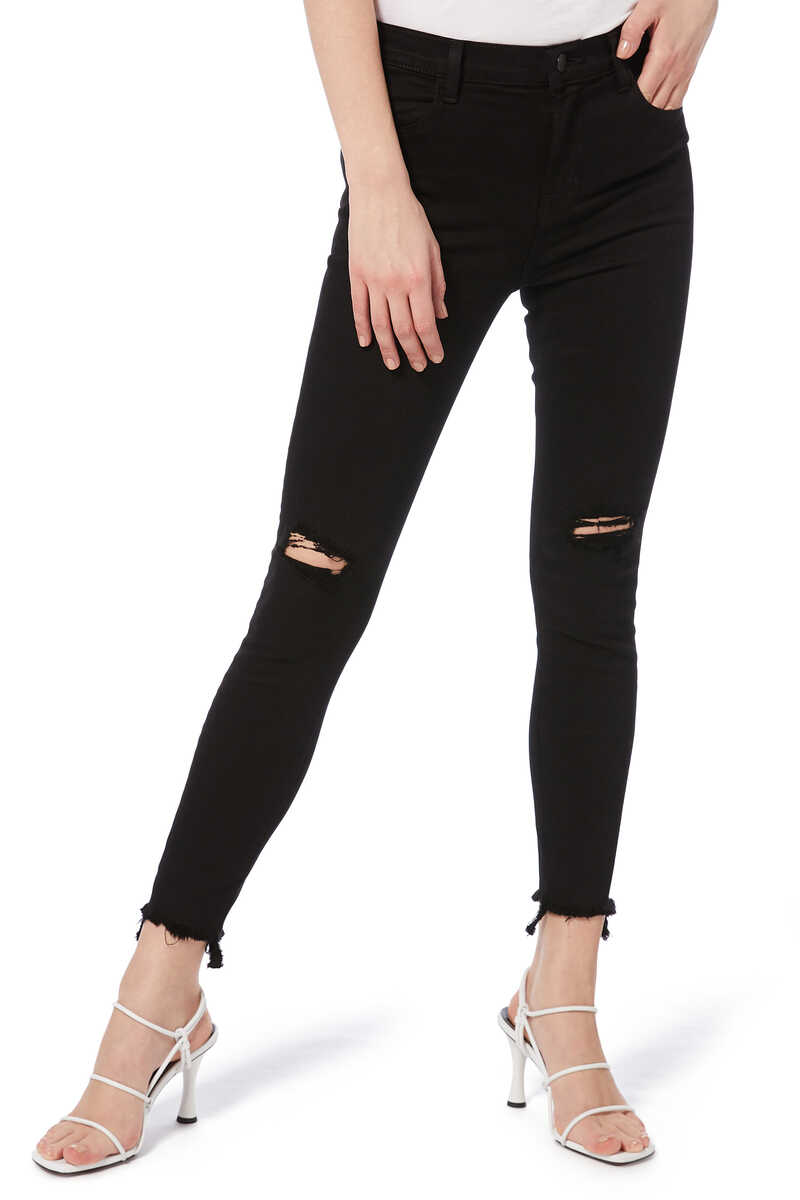Alana High-Rise Crop Skinny Jeans image number 1