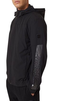 Iron AJ Technical Zipped Jacket