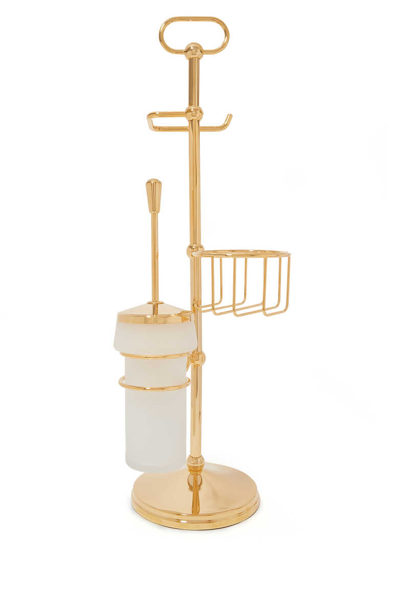 Cylinder Toilet Brush Stand image number 1