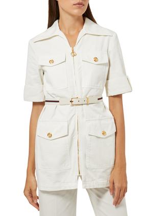 Eco Washed Organic Cotton Jacket
