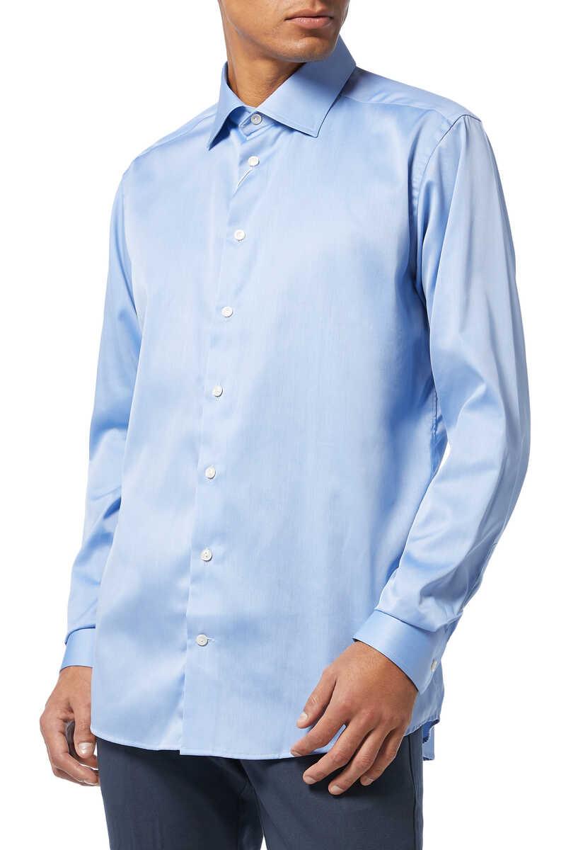 Slim Fit Cotton Shirt image number 1