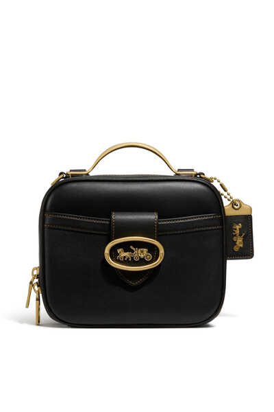 Riley Leather Lunchbox Bag