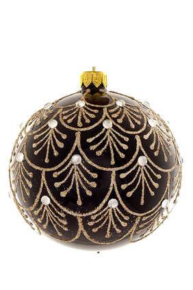 Champagne Glitter Ornament