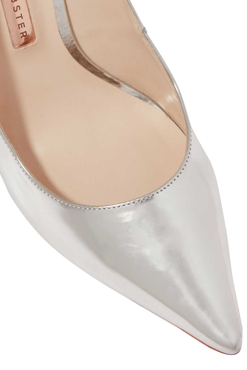 Silver Coco Crystal Pumps image thumbnail number 4