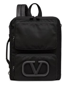 Valentino Garavani VLogo Nylon Backpack