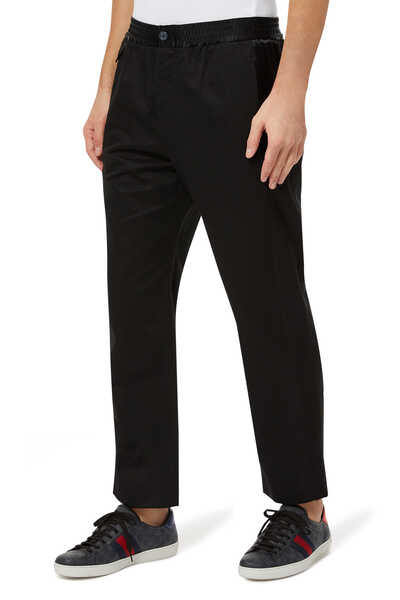 Satin Stripe Pants